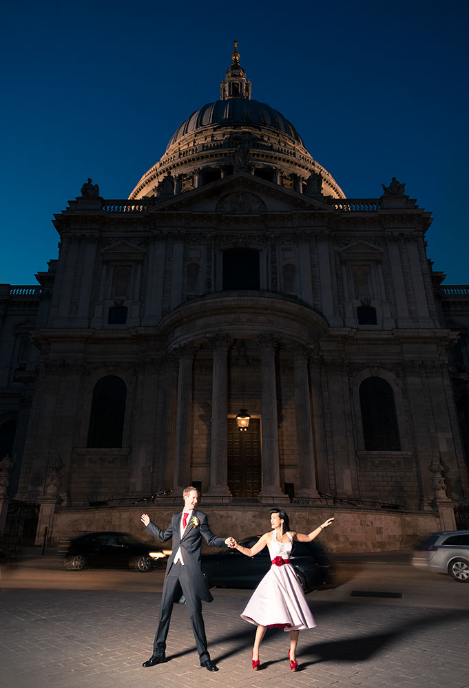 Christina & Alastair at St Paul's Cathedral, London Wedding Photographer - Ben Pipe Photography - www.benpipeweddings.com