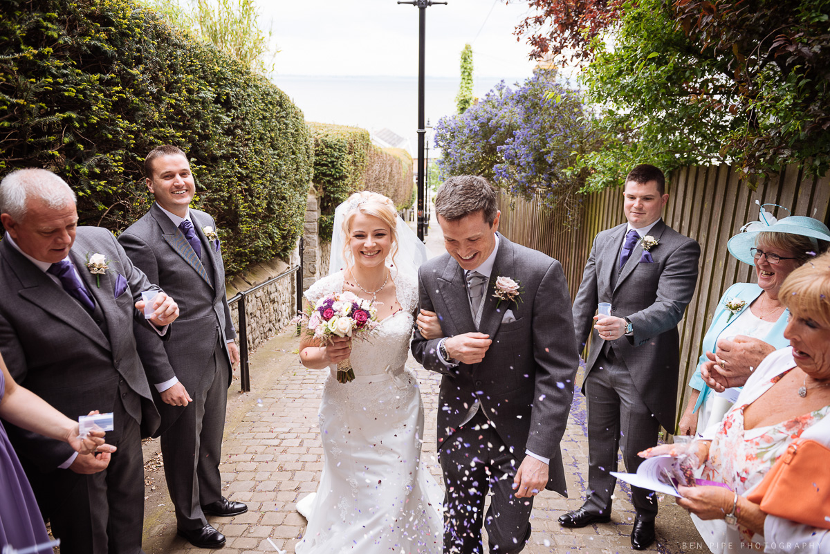 Amanda & Simon's wedding at Southend-on-sea by Ben Pipe Wedding Photography