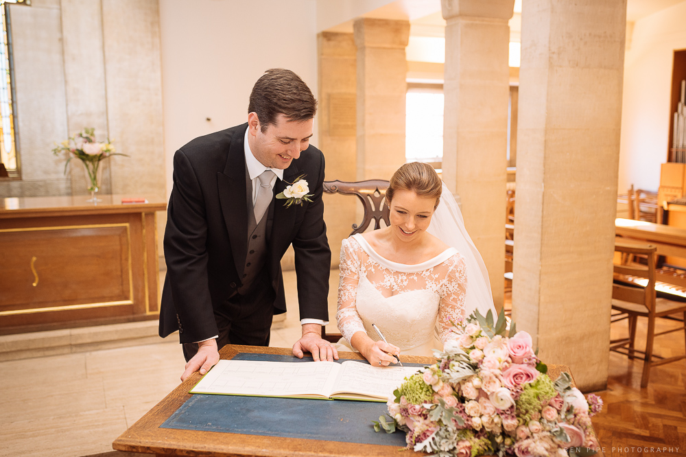 London Wedding Photographer Ben Pipe Knightsbridge at St Columba Church