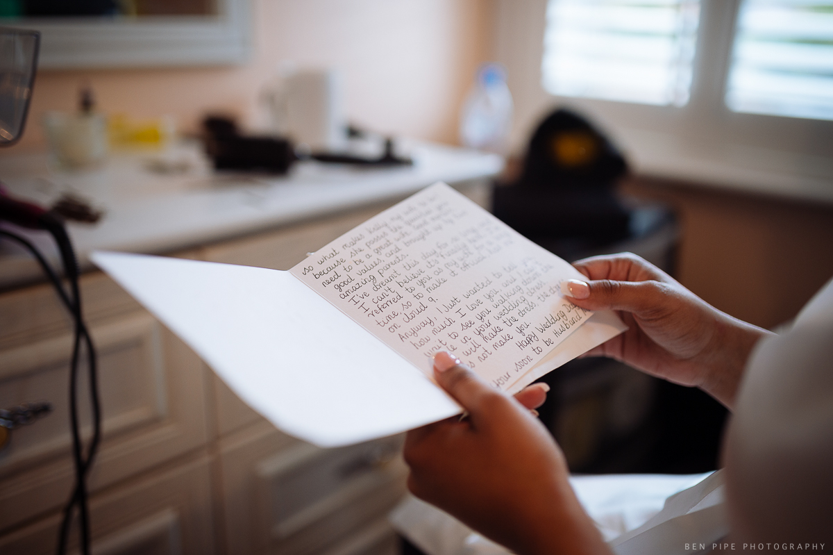 wedding prep letter from fiancee husband romance