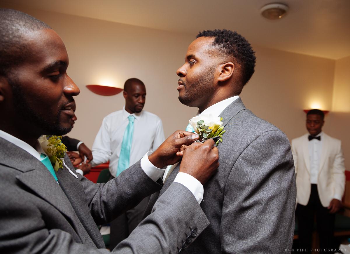 groomsmen prep wedding london