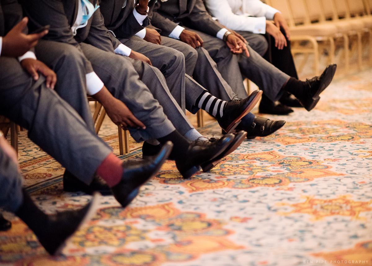 mens ushers grooms socks wedding