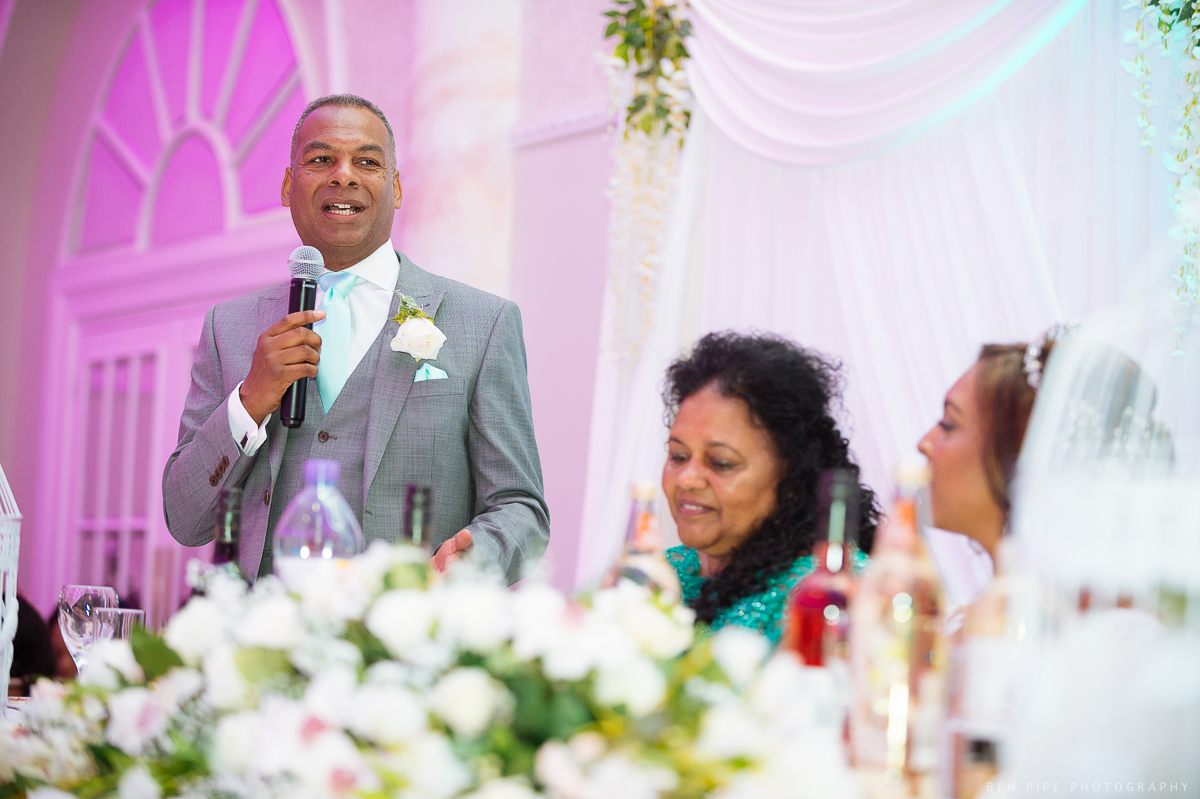 marriott hotel regents park london wedding reception speeches