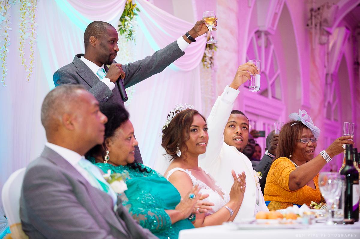 Kelly + Masaka\'s Wedding at The Landmark Hotel and reception at ...