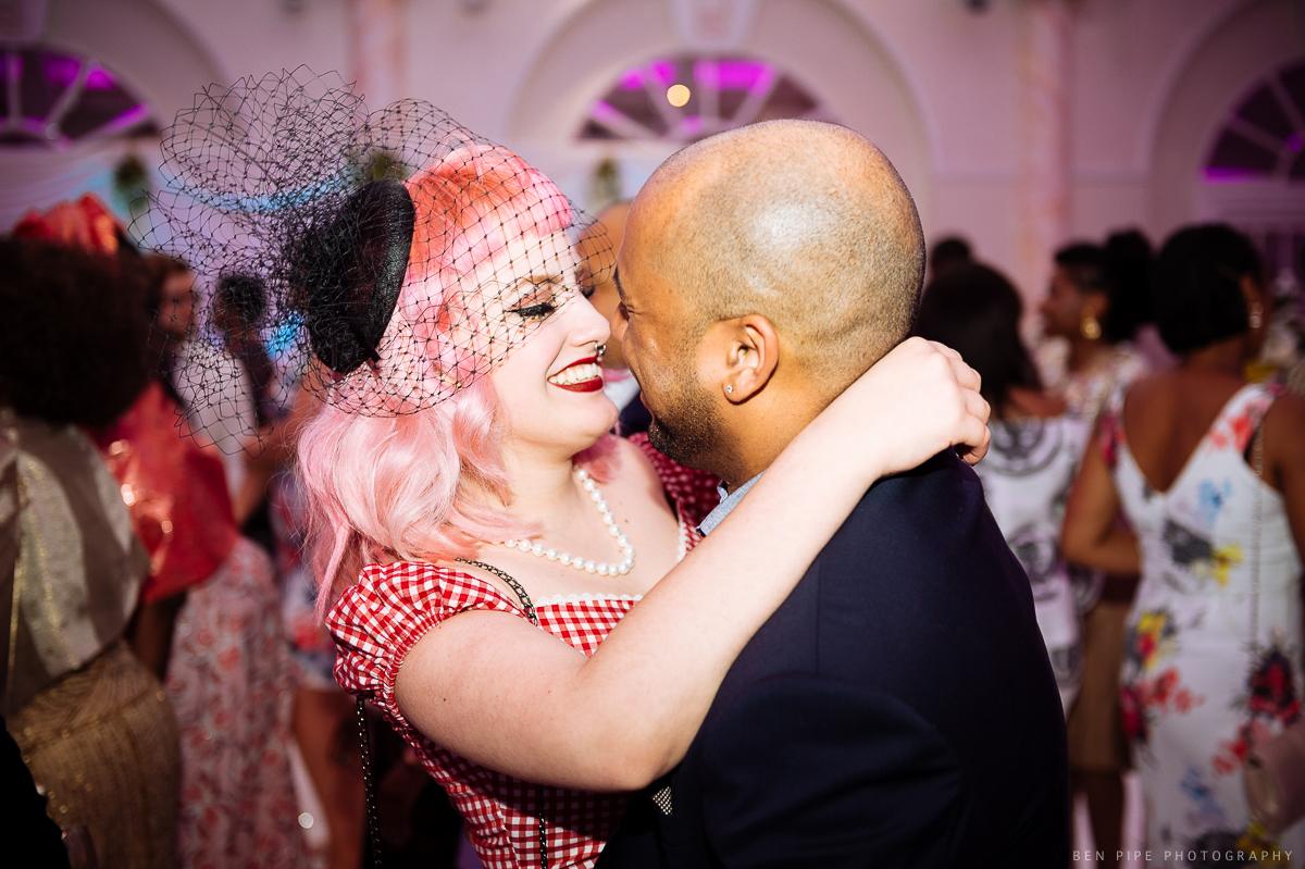 marriott hotel regents park london wedding reception dancefloor happy
