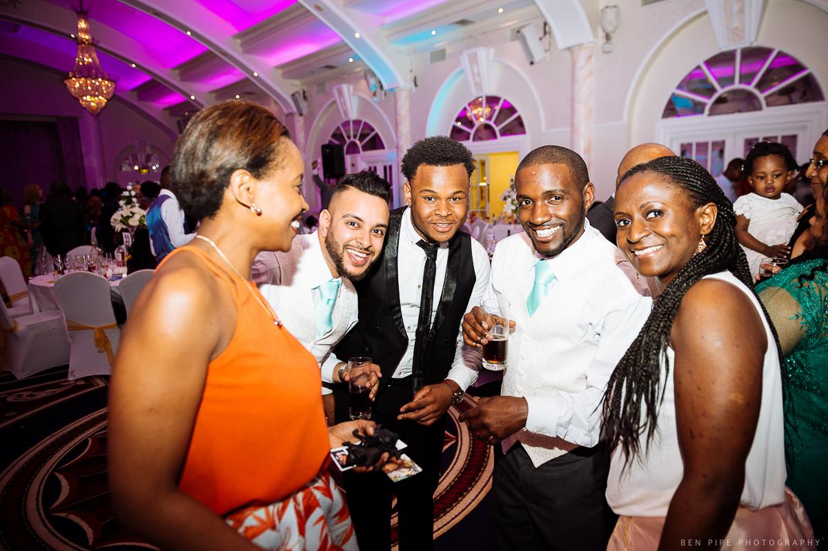 marriott hotel regents park london wedding reception dancefloor