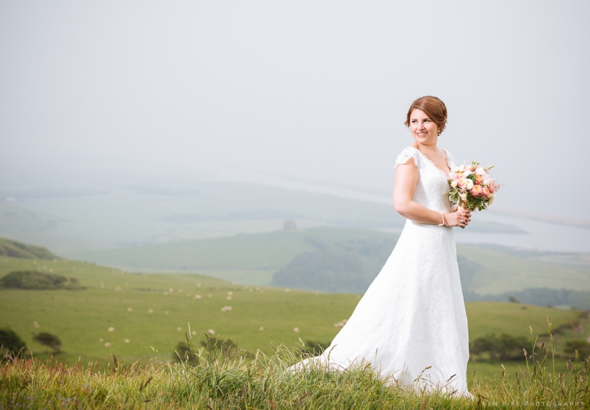 wedding photography profoto b1 lighting location dorset coast