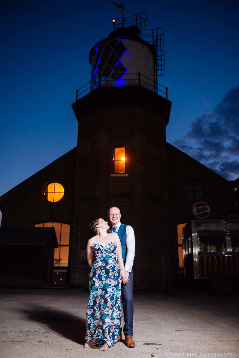 Ruth & Arron's Wedding at Trinity Buoy Wharf, London by Ben Pipe Wedding Photography