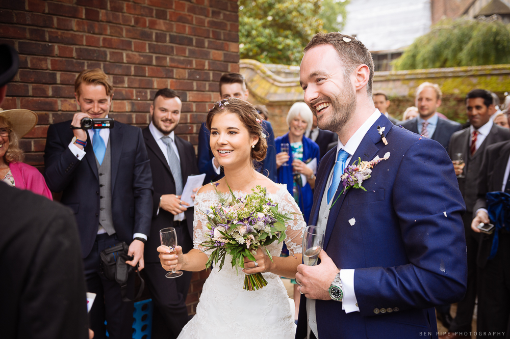 Alice + Spike's Wedding at Queens College, Cambridge University by Ben Pipe Photography