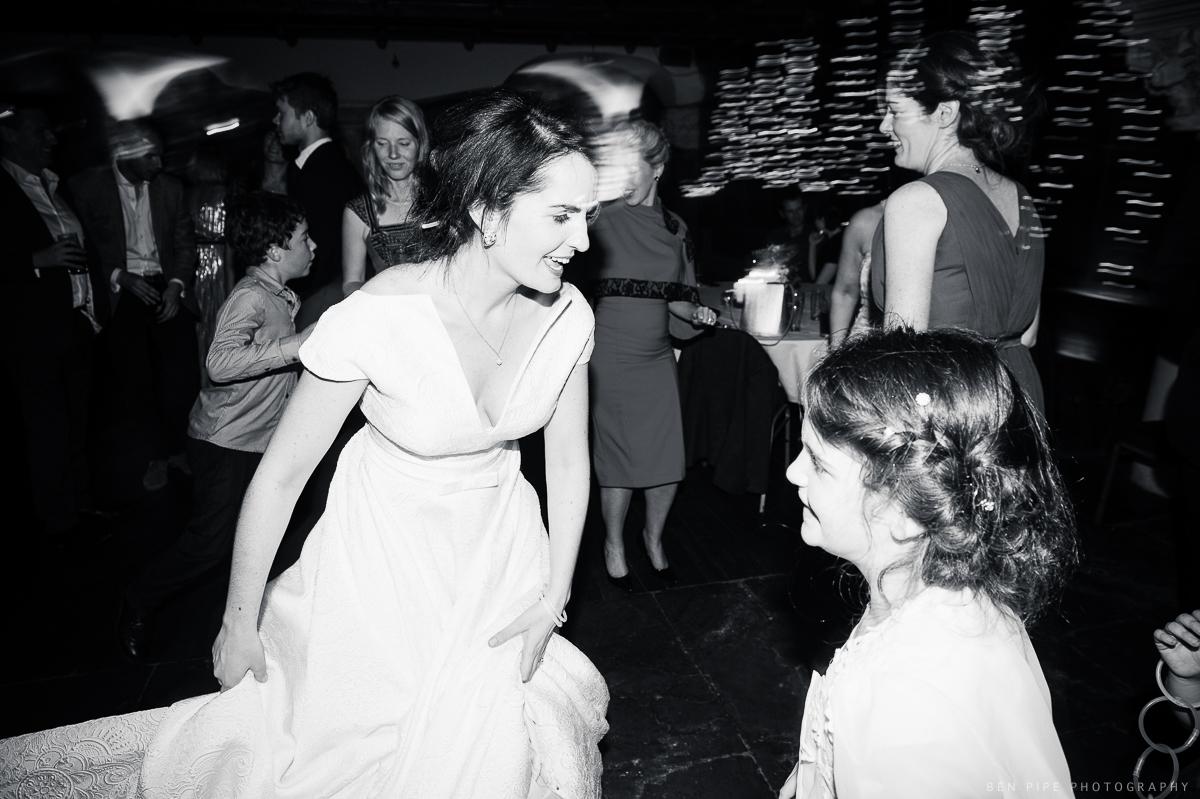 The dancefloor at Jenny & Graham's wedding at Belleek Castle, Ireland
