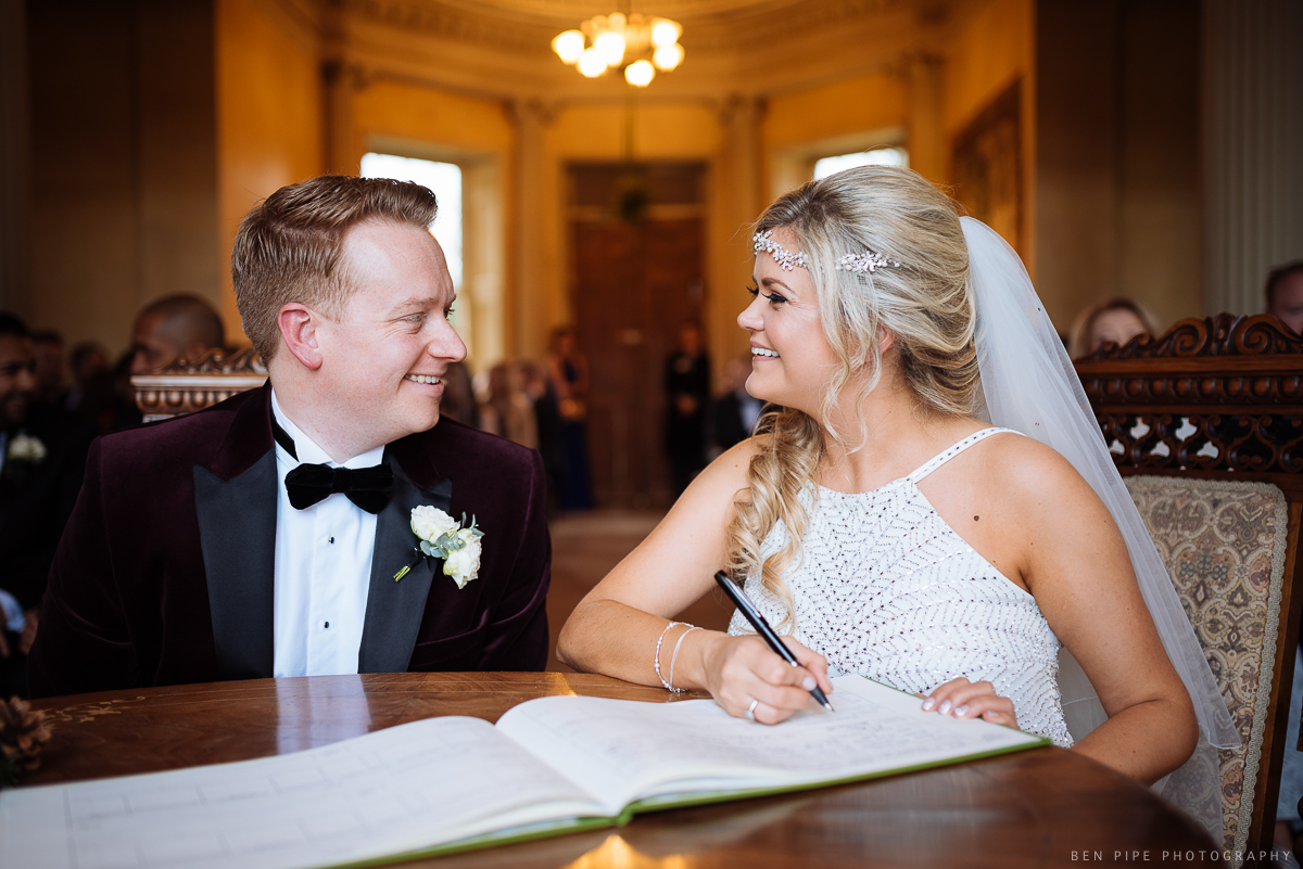Abi + Pete's Wedding at Hampton Court House, London by Ben Pipe Wedding Photography. 02/12/2017