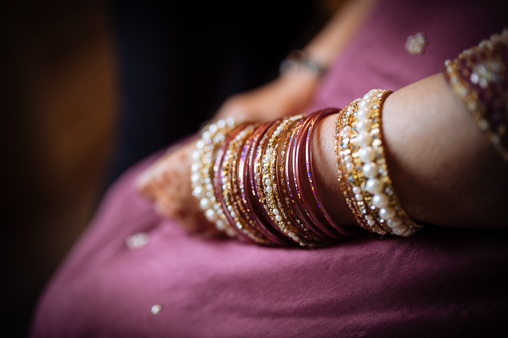 farah bride bangles warwick wedding