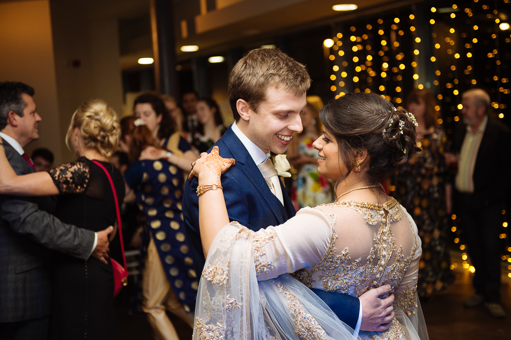 farah & sam first dance wedding reception jephson gardens botanical warwick weddings
