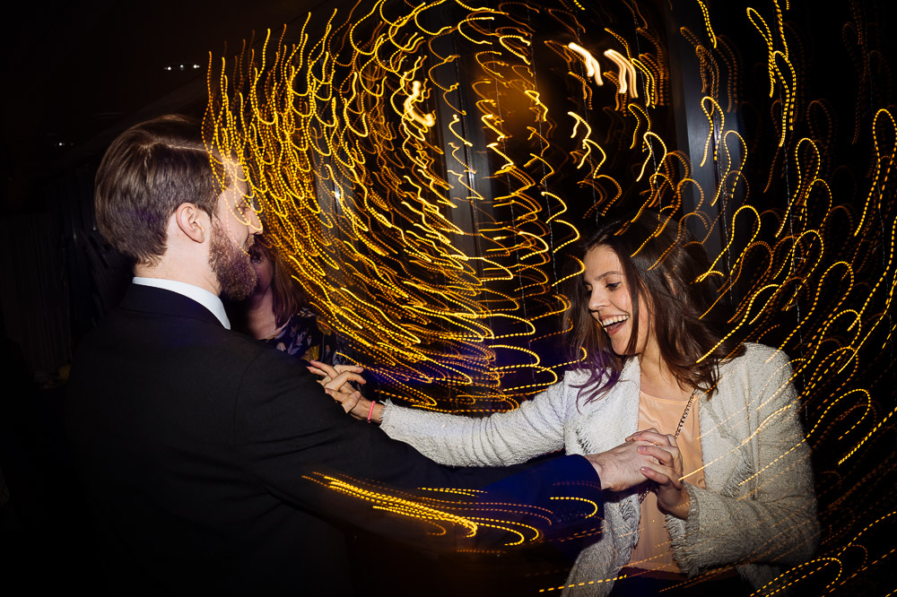 wedding dancefloor farah sam slow sync flash at jephson gardens warwickshire