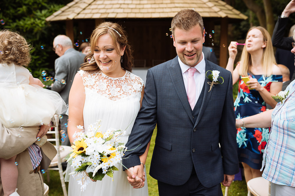 Kat and Rob's outdoor wedding at Abbotsbury Gardens, Dorset by Ben Pipe Wedding Photographer