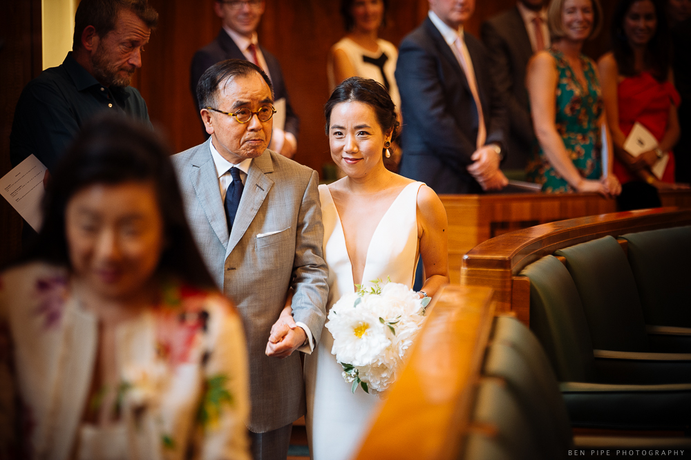 DJ and Olly's Wedding at Hackney Town Hall and The V & A Museum of Childhood, London by Ben Pipe Wedding Photography on 23rd June 2018