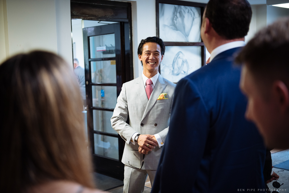 Amelia and Mat's Wedding at Hammersmith Town Hall & Cafe Royal, London by Ben Pipe Wedding Photography on 4th August 2018